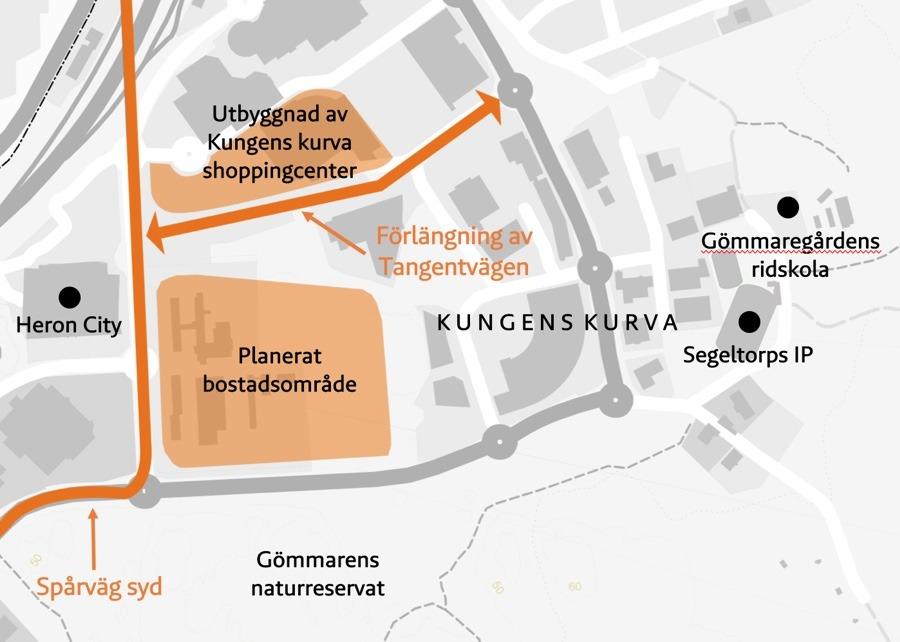 Kungens Kurva Shoppingcenter växer som planerat - Kungens kurva bb73c251a87cb